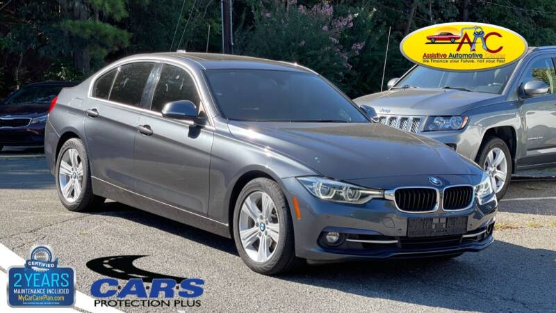 2017 BMW 3 Series for sale at Assistive Automotive Center in Durham NC