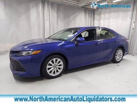 2018 Toyota Camry for sale at North American Auto Liquidators in Essington PA