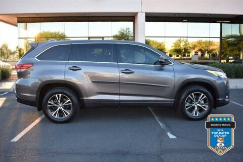 2017 Toyota Highlander for sale at GOLDIES MOTORS in Phoenix AZ