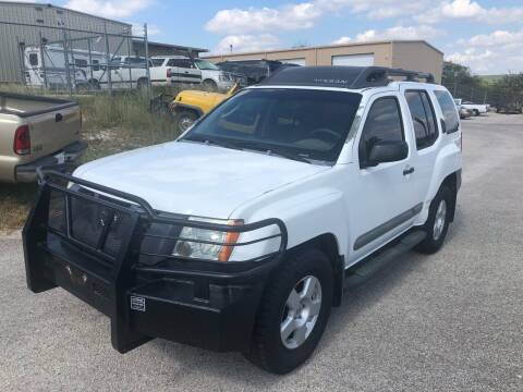 2005 Nissan Xterra for sale at Central Automotive in Kerrville TX