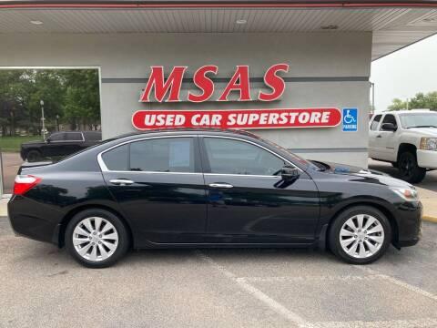 2015 Honda Accord for sale at MSAS AUTO SALES in Grand Island NE