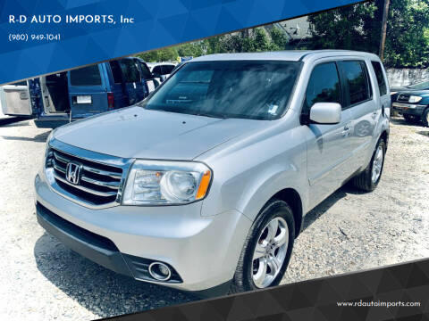 2012 Honda Pilot for sale at R-D AUTO IMPORTS, Inc in Charlotte NC