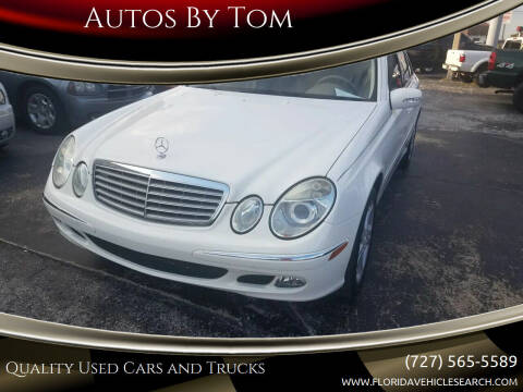 2005 Mercedes-Benz E-Class for sale at Autos by Tom in Largo FL