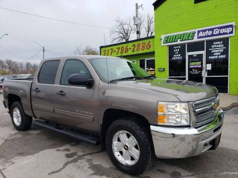 2012 Chevrolet Silverado 1500 for sale at Empire Auto Group in Indianapolis IN