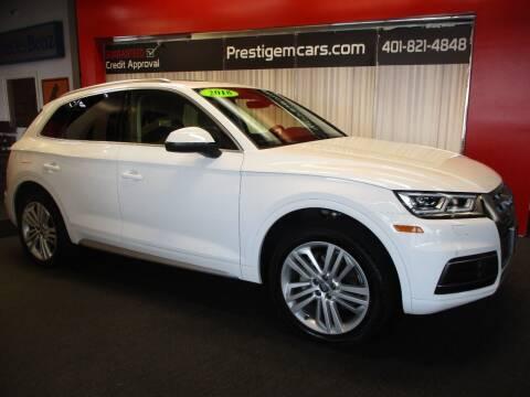2018 Audi Q5 for sale at Prestige Motorcars in Warwick RI