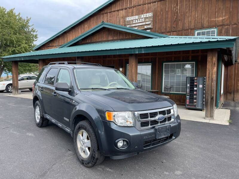 2008 Ford Escape for sale at Coeur Auto Sales in Hayden ID