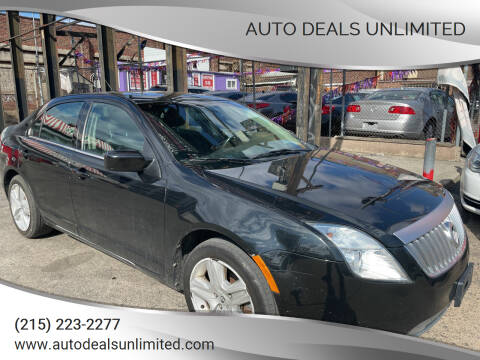 2010 Mercury Milan for sale at AUTO DEALS UNLIMITED in Philadelphia PA