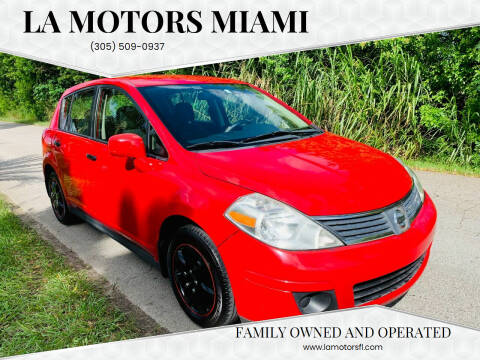2009 Nissan Versa for sale at LA Motors Miami in Miami FL