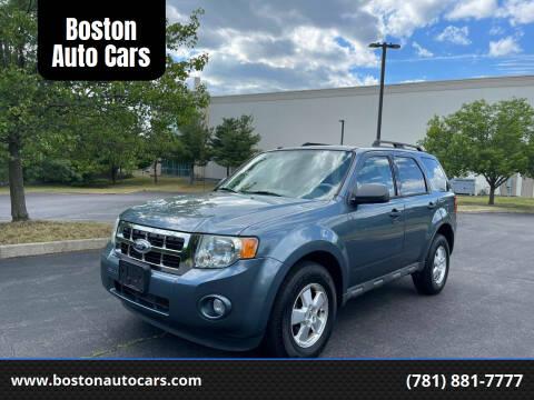 2011 Ford Escape for sale at Boston Auto Cars in Dedham MA