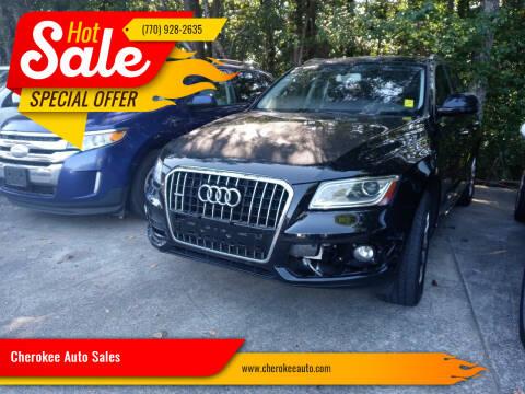 2015 Audi Q5 for sale at Cherokee Auto Sales in Acworth GA