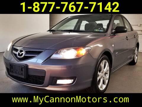 2007 Mazda MAZDA3 for sale at Cannon Motors in Silverdale PA
