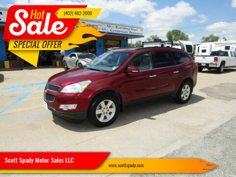 2010 Chevrolet Traverse for sale at Scott Spady Motor Sales LLC in Hastings NE