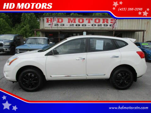 2013 Nissan Rogue for sale at HD MOTORS in Kingsport TN