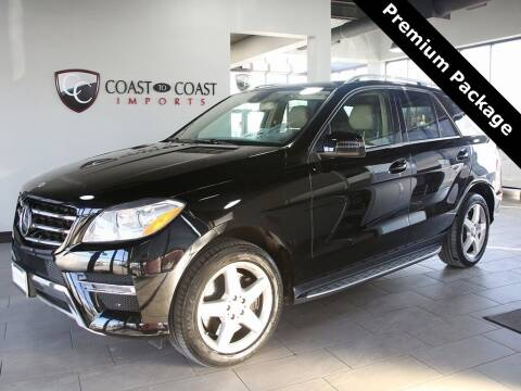 2013 Mercedes-Benz M-Class for sale at Coast to Coast Imports in Fishers IN