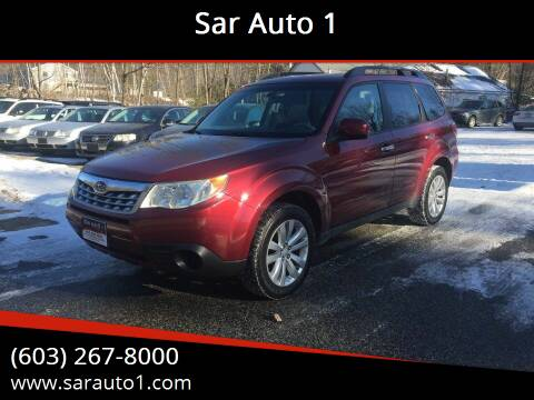 2011 Subaru Forester for sale at Sar Auto 1 in Belmont NH