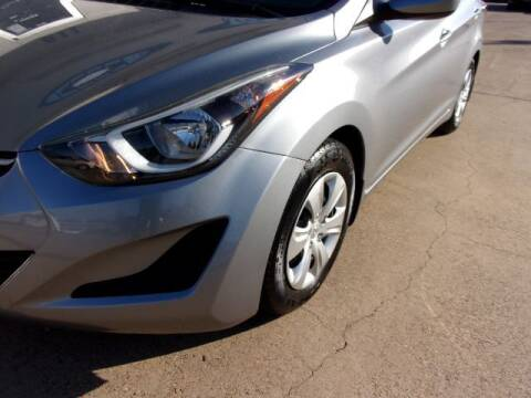 2016 Hyundai Elantra for sale at MESQUITE AUTOPLEX in Mesquite TX