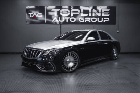 2015 Mercedes-Benz S-Class for sale at TOPLINE AUTO GROUP in Kent WA