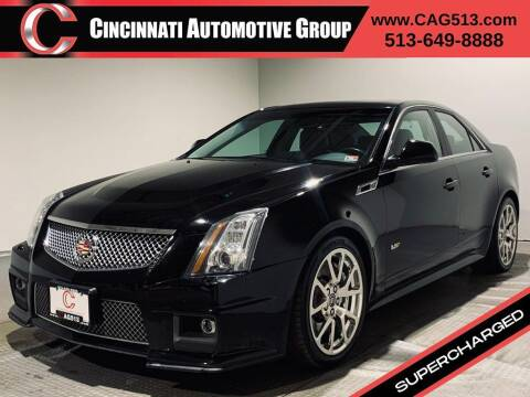 2011 Cadillac CTS-V for sale at Cincinnati Automotive Group in Lebanon OH