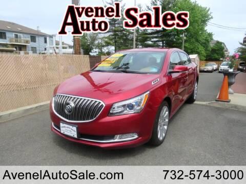 2014 Buick LaCrosse for sale at Avenel Auto Sales in Avenel NJ