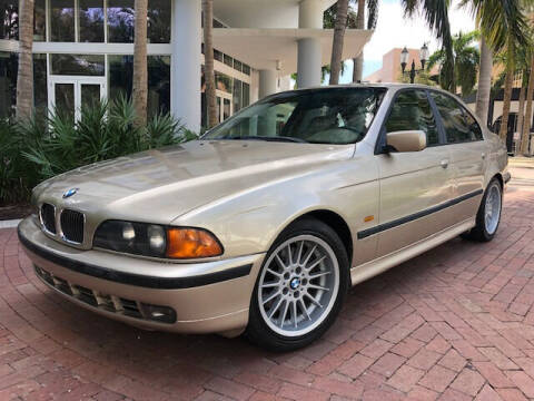 1999 BMW 5 Series for sale at Florida Cool Cars in Fort Lauderdale FL