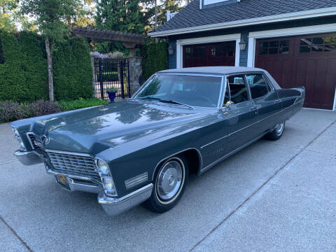1967 Cadillac Fleetwood for sale at Wild About Cars Garage in Kirkland WA