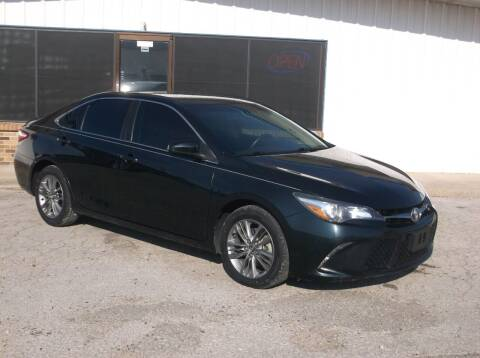 2016 Toyota Camry for sale at AUTO TOPIC in Gainesville TX