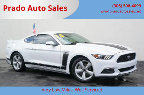 2015 Ford Mustang for sale at Prado Auto Sales in Miami FL