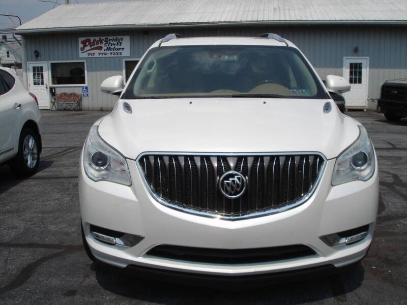 2016 Buick Enclave for sale at Pete's Bridge Street Motors in New Cumberland PA