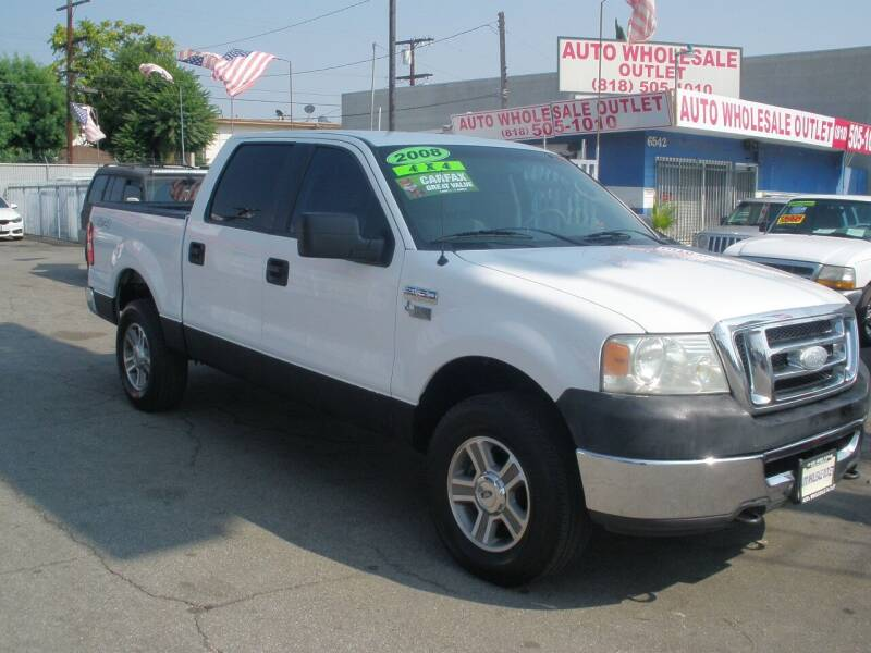 2008 Ford F-150 for sale at AUTO WHOLESALE OUTLET in North Hollywood CA