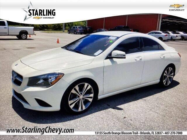2016 Mercedes-Benz CLA for sale at Pedro @ Starling Chevrolet in Orlando FL