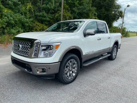 2019 Nissan Titan for sale at Autoteam of Valdosta in Valdosta GA