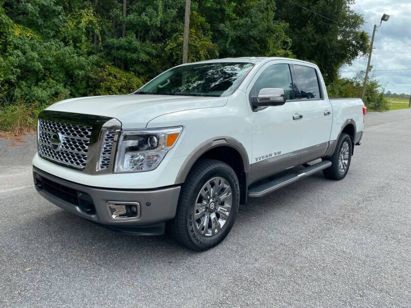2019 Nissan Titan for sale at Autoteam of Valdosta in Valdosta GA