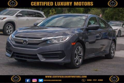 2017 Honda Civic for sale at Certified Luxury Motors in Great Neck NY