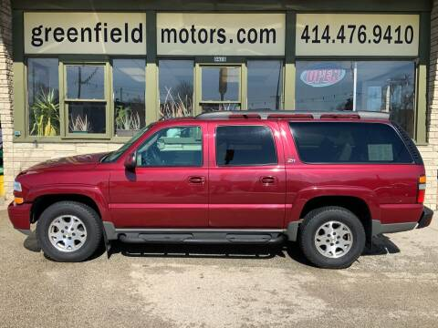 2004 Chevrolet Suburban for sale at GREENFIELD MOTORS in Milwaukee WI