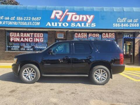 2013 Chevrolet Tahoe for sale at R Tony Auto Sales in Clinton Township MI