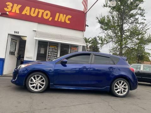 2012 Mazda MAZDA3 for sale at 3K Auto in Escondido CA