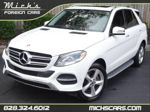2017 Mercedes-Benz GLE for sale at Mich's Foreign Cars in Hickory NC