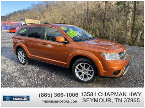 2011 Dodge Journey for sale at Union Motors in Seymour TN