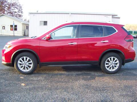 2017 Nissan Rogue for sale at KERN MOTORS in Danville PA