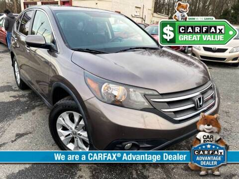 2013 Honda CR-V for sale at High Rated Auto Company in Abingdon MD