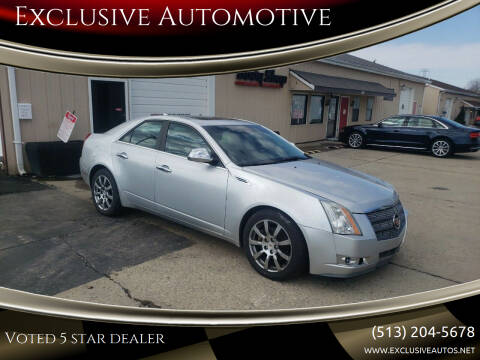 2009 Cadillac CTS for sale at Exclusive Automotive in West Chester OH