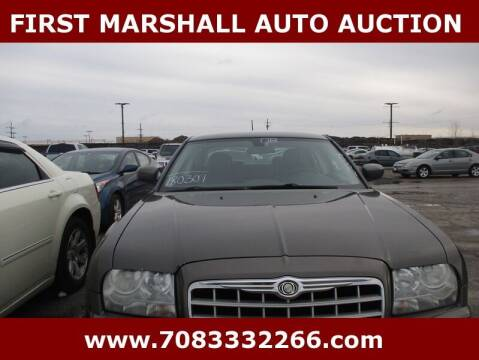 2008 Chrysler 300 for sale at First Marshall Auto Auction in Harvey IL