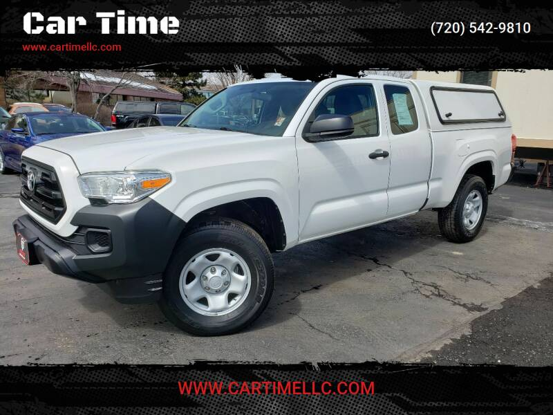 2016 Toyota Tacoma for sale at Car Time in Denver CO