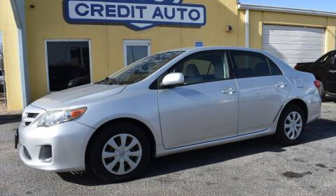 2011 Toyota Corolla for sale at Buy Here Pay Here Lawton.com in Lawton OK