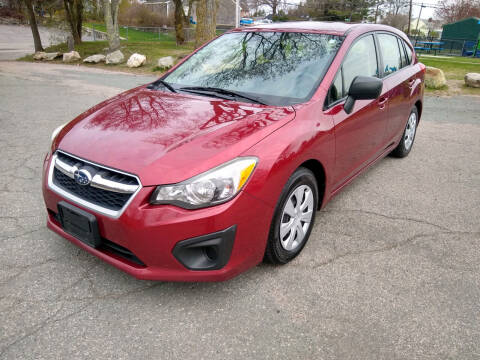 2013 Subaru Impreza for sale at Washington Street Auto Sales in Canton MA