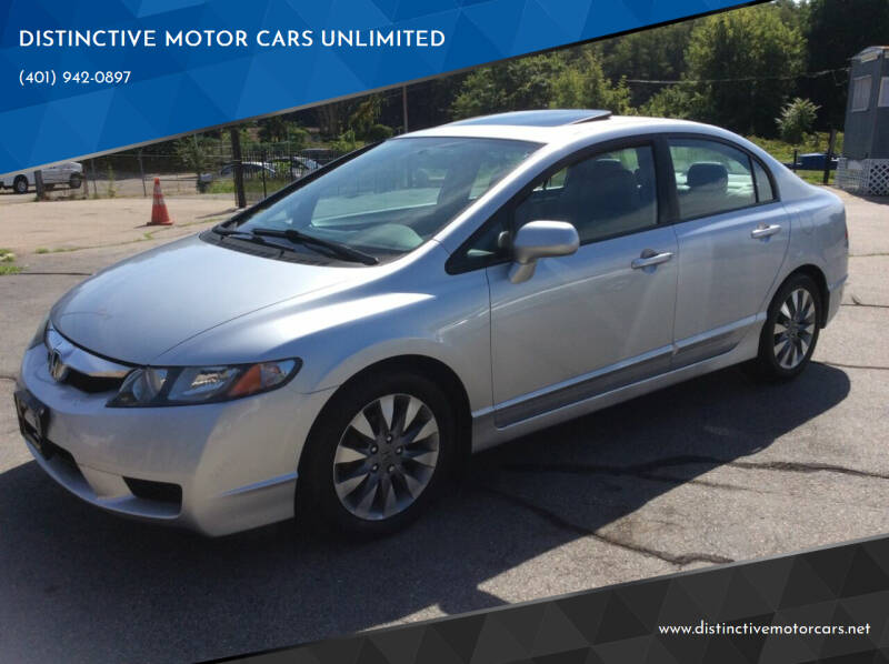 2010 Honda Civic for sale at DISTINCTIVE MOTOR CARS UNLIMITED in Johnston RI