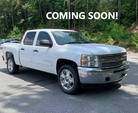 2012 Chevrolet Silverado 1500 for sale at Crossroads Auto Sales LLC in Rossville GA