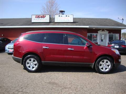 2010 Chevrolet Traverse for sale at G and G AUTO SALES in Merrill WI