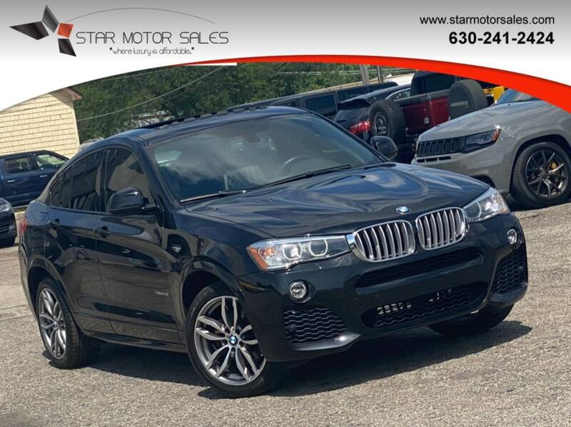 2016 BMW X4 for sale at Star Motor Sales in Downers Grove IL