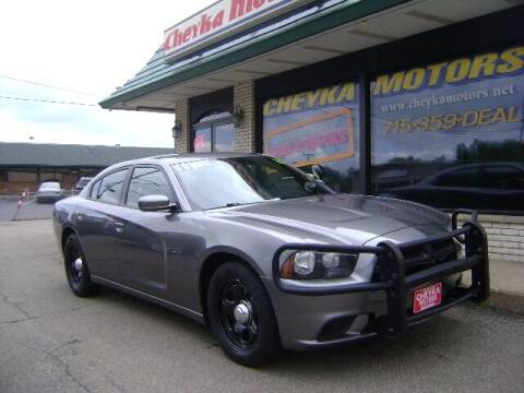 2011 Dodge Charger for sale at Cheyka Motors in Schofield WI